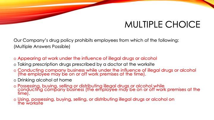 DrugFree Workplace21