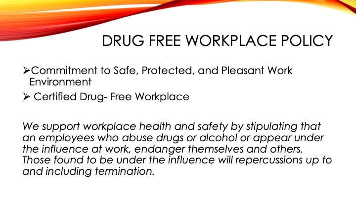 DrugFree Workplace9